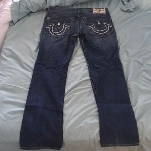 True religion jeans size 34 straight